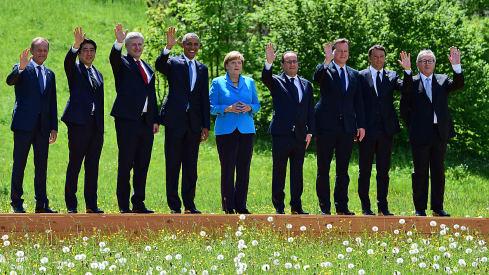 Der G7-Gipfel auf Schloss Elmau ging am Montag zu Ende.  © John MacDougall/AFP
