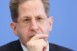 Hat sich bis jetzt nicht der Öffentlichkeit gestellt: Bfv-Präsident Hans-Georg Maaßen. (Foto: dpa)